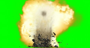 Bomb-Ground-Explosion-Effect-green-screen-with-sound