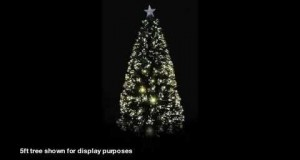 Green-Fibre-Optic-Tree-With-LED-Tips