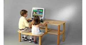 Wild-Zoo-Furniture-Childs-Wooden-Computer-Desk-For-1-To-2-Kids-Ages-2-To-5-Maplegreen-Home