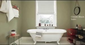 Bathroom Ideas: Using olive green – Dulux