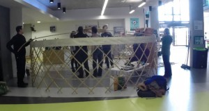 Building a Yurt – Go Green Week – Falmouth University