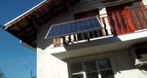 Green building   of the grid house with solar balc x264 x264 x264