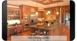 Green Kitchen Design