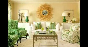 green living room interior design   Interior Design 2015