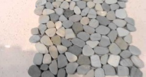 Green Sliced Pebble Tile by Design For Less