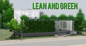 The Sims 3 — Building Lean and Green