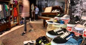 Vans pop up store by Green Room, London